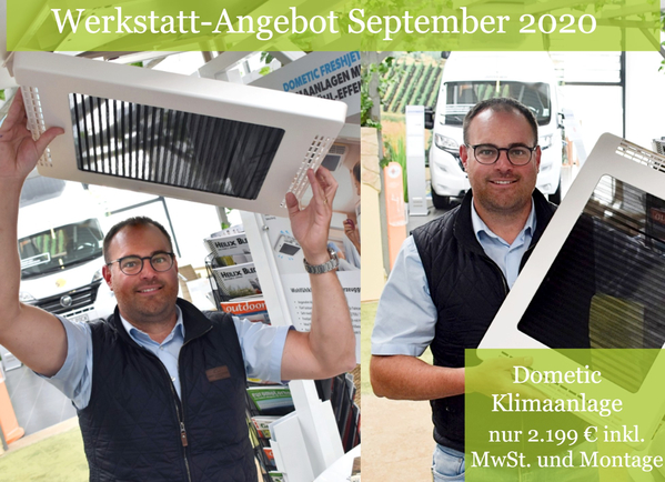 Werkstattangebot September - Dometic Klimaanlage